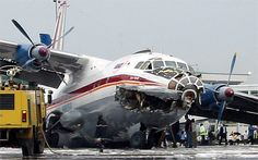 russian cargo plane crash--is that a chelsea grin?