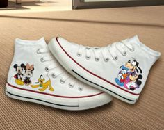 Mickey Mouse & Friends Converse Shoes