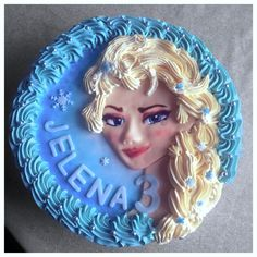 Elsa Cake made by me