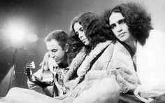 João Gilberto, Gal Costa e Caetano Veloso. Foto: AE