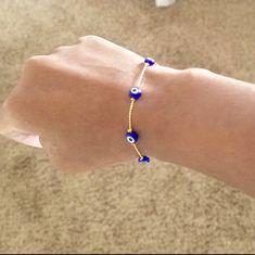Arm Candy Bracelets, Seed Bead Bracelets, Pandora Bracelets, Seed Beads, Jewelry Bracelets, Evil Eye Jewelry, Evil Eye Bracelet, Greek Evil Eye, Greek Jewelry