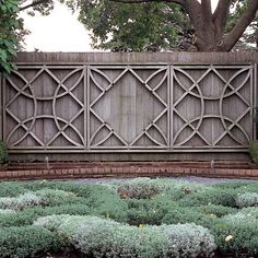 Hardscape Essentials: It takes more than plants to make a landscape - interesting fence design