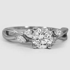 Even though I love my engagement ring.. If I ever wanted a new one this is it!