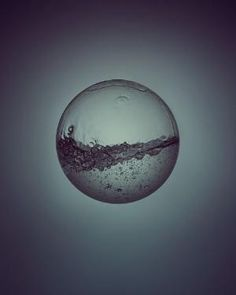 Day & Night - water study by Owen Silverwood, via Behance by marian
