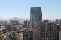 #Santiago #Chile #summer #StaLucia #Cerro #vista