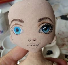 idea on how to draw doll eyes dolls bears mouse Click above VISIT link for more details - Caring For Your Collectable Dolls. toy dolls for girls Doll Sewing Patterns, Sewing Dolls, Doll Clothes Patterns, Tiny Dolls, Soft Dolls, Cute Dolls, Doll Face Paint, Doll Painting, Accessoires Barbie