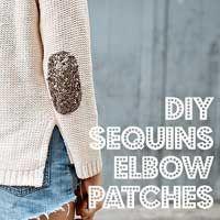create a designer sweater... 5 min diy