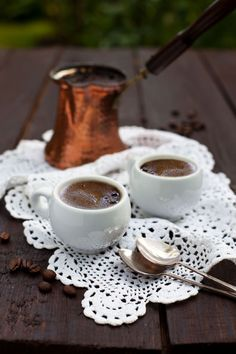 Greek Coffee from magical east.