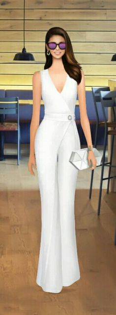 "Covet Fashion Game ""Post-Party Brunch"" Challenge Styled by: CandyTLR ♕ DiamondB! Covet Fashion, Fashion Art, Fashion Show, Womens Fashion, Pretty Outfits, Pretty Dresses, Fashion Design Sketches, Overall, Fashion Games"