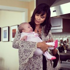 "Cassie and baby from the upcoming ""The Good Witch's Charm"" Premiers October 27, 2012 on hallmark Channel"