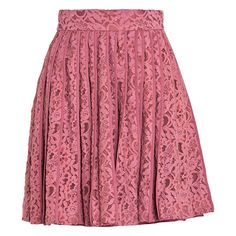Pleated Pink Lace