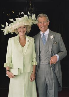 The Prince of Wales and The Duchess of Cornwall, taken before a Garden Party in 2005  © Clarence House