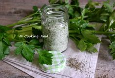 COOKING JULIA: SEL AUX HERBES
