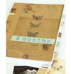 Diarios y cuadernos decorados con washi tape #2