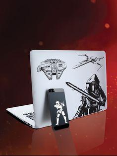 Sticker aus Star Wars Episode VII: Das Erwachen der Macht! So lassen sich Mac, Laptop, Notebook, Ultrabook, Smartphone, Tablet & Co. doch ansehen!