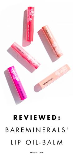 Reviewed: BareMinerals' Pop of Passion Lip-Oil Balm.