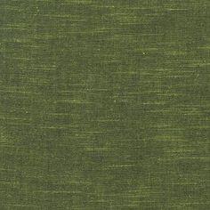 Andover House Designer - Stellar Slub Chambray - Stellar Slub Chambray in Dark Lemon Grass