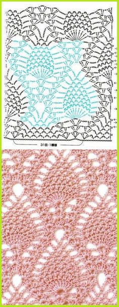 Watch This Video Beauteous Finished Make Crochet Look Like Knitting (the Waistcoat Stitch) Ideas. Amazing Make Crochet Look Like Knitting (the Waistcoat Stitch) Ideas. Filet Crochet, Crochet Stitches Chart, Crochet Motifs, Crochet Diagram, Thread Crochet, Crochet Lace, Crochet Patterns, Points Crochet, Patron Crochet