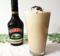 Baileys shake - something to try before the summer heat goes away!