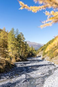 Fall in the Upper Engadin