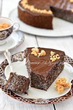 Makowiec bez mąki Sugar Free Desserts, Cookie Desserts, No Bake Desserts, Baking Recipes, Cake Recipes, Dessert Recipes, Xmas Food, Christmas Baking, Food Cakes