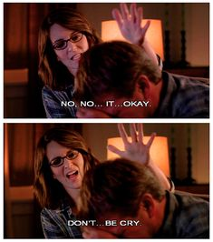"""How to comfort someone who is crying: 