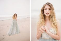Grey wedding dress inspiration