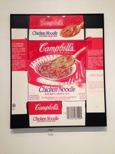 Campbell Soup Box, Andy Warhol, Tel Aviv Museum of Art