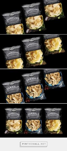 Tasti Premium Chips - Packaging of the World - Creative Package Design Gallery - http://www.packagingoftheworld.com/2017/04/tasti-premium-chips.html