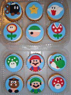 Sugar Butter Baby Super Mario Cupcakes Round 2