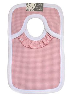 What an easy way to put bib to baby - and no more Velcro® to come apart!