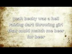 LIke this...Mary Was The Marrying Kind - Kip Moore Lyrics - YouTube