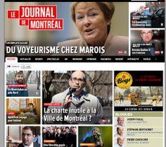 """Article in the """"Journal de Montréal"""" about my participation"""