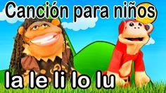 Canción la le li lo lu - El Mono Sílabo - Videos Infantiles - Educación ...
