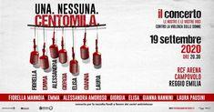 UNA. NESSUNA. CENTOMILA. il concerto – Campania Tickets Fiorelli, Reggio Emilia, Movie Posters, Film Poster, Film Posters