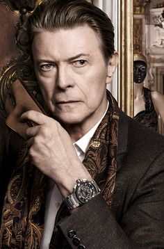 David Bowie and Arizona Muse for Louis Vuitton's latest campaign - The Model Stage Blog
