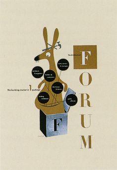 Advertising | Paul Rand, American Modernist (1914-1996)#prettyPhoto[Forum]/4/#prettyPhoto[Forum]/4/ -- The Architectural Forum