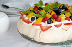 Pavlova, Pudding, Desserts, Food, Tailgate Desserts, Meal, Dessert, Eten, Puddings