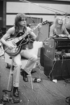 Steve Howe and Rick Wakeman