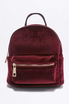 Shop: Velvet Mini Backpack