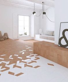 [New] The 10 Best Home Decor (with Pictures) - Design is in the details ! The mud collection offers unique patterns and shapes. You can create stunning spaces that reflect your style. Floor Design, Tile Design, House Design, Transition Flooring, Estilo Interior, Interior Decorating, Interior Design, Style Tile, Floor Patterns