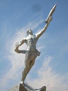 Mongolian Cosmonaut Monument