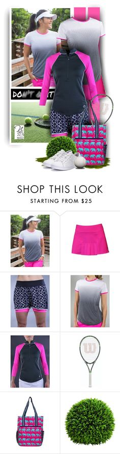 """""""Do it with Passion - Nicole's Tennis Boutique"""" by nicolestennisboutique ❤ liked on Polyvore featuring Jofit and Lacoste"""