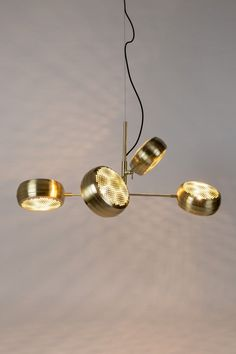 Gringo Multi hanglamp | Zuiver Dinner Room, Copper Lighting, House Doctor, Living Room Inspiration, Messing, Led Lamp, Pendant Lamp, Whiskey, Pearl Earrings