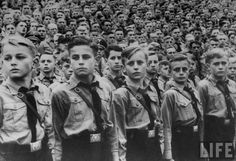 Hitler Youth, Germany, 1939. Children were taught to hate Jews and people deemed not aryan.