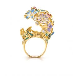 Floral Orb Ring - Size Small Only Poison Ring, Perfect Place, Carving, Engagement Rings, Floral, Flowers, Gold, Facebook, Jewelry