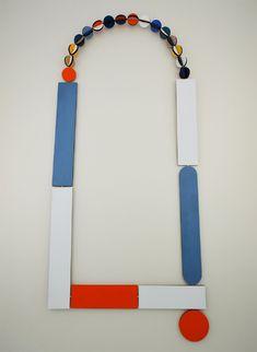 Rebecca Hannon Neckpiece: Mondrian 2013