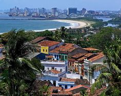 Recife, Brazil: view from Olinda