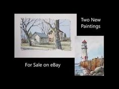 2 Original Line and Wash Watercolors by Peter Sheeler. For sale on eBay. Peter Sheeler, Sale On, Paintings For Sale, Watercolors, Youtube, Ebay, Art, Crocheting, Art Background