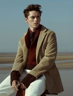 Think Oversize: Anders Hayward Inspires in Dashing Wardrobe for Glass Magazine